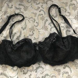 Chantelle Intimates & Sleepwear - Rive Gauche Demi Cup Bra 3085, 36DD, like-new!